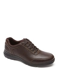 Rockport City Play Ii Leather Sneakers Brown