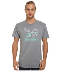 Kinetix 5 Pm Somewhere Tee Slate Men's T Shirt Metallic