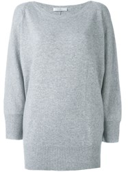 Max Mara Bat Wing Sleeve Jumper Grey