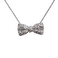Mikey Bow Necklace