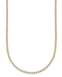 Giani Bernini 24K Gold Over Sterling Silver Necklace 20' Box Chain