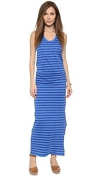 Sundry Striped Maxi Dress Atlantis