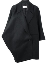 Chalayan Wide Collar Coat Grey