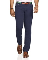 Polo Ralph Lauren Varick Slim Fit 5 Pocket Pants Aviator Navy