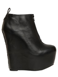 Jeffrey Campbell 160Mm 99Two Leather Wedge Ankle Boots