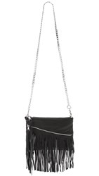 Ash Nikki Cross Body Clutch Black