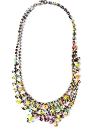 Tom Binns 'Splash Out' Layered Necklace Multicolour
