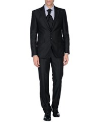 Carlo Pignatelli Cerimonia Suits And Jackets Suits Men Black