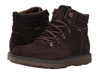 Rockport Boat Builders D Ring Plain Toe Boot Dark Bitter Chocolate Suede Men's Boots Brown
