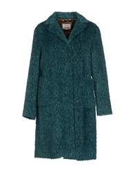 Niu' Coats And Jackets Coats Women Green