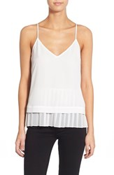 Chelsea 28 Women's Chelsea28 Double Layer Tank White Snow