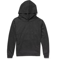 Christopher Kane Plaid Wool Hoodie Gray