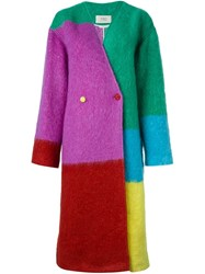Ports 1961 Oversized Coat Multicolour