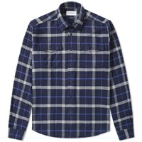 Barbour Forestay Shirt Blue