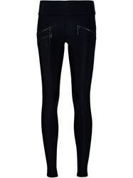 Thomas Wylde Side Zip Leggings Black