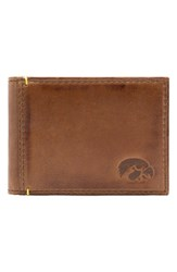 Men's Jack Mason Brand 'Campus University Of Iowa Hawkeyes' Front Pocket Wallet