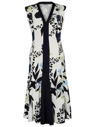 Chesca Floral Print Dress Ivory Ink