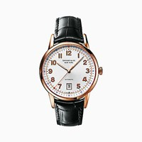 Tiffany And Co. Ct60tm 3 Hand 40 Mm Men's Watch In 18K Rose Gold.