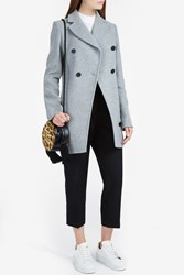 Proenza Schouler Women S Asymmetric Coat Boutique1 Grey