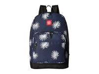 Obey Palm Fan Juvee Backpack Navy White Backpack Bags Blue