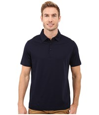 Bugatchi Calabria Classic Fit Short Sleeve Knit Navy Men's Short Sleeve Knit