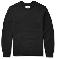Reigning Champ Slim Fit Cotton Jersey Sweatshirt Black