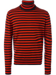 Paul Smith Ps By Striped Roll Neck Jumper