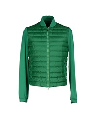 Geospirit Down Jackets Green