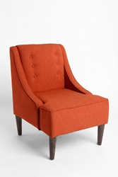 Urban Outfitters Madeline Chair Orange