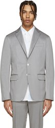 Dsquared Grey Cotton Blazer
