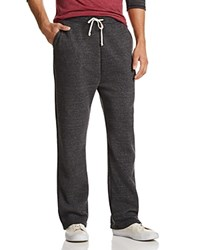 Alternative Apparel Hustle Eco Fleece Open Bottom Sweatpants Eco True Midnight