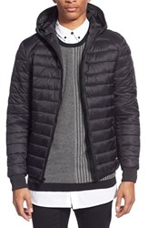 Men's Members Only Packable Hooded Puffer Jacket