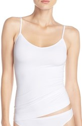 Nordstrom Women's Lingerie Two Way Seamless Camisole White
