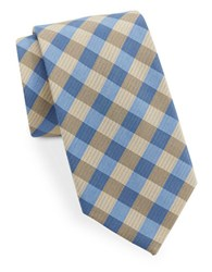 Vince Camuto Checked Tie Gold
