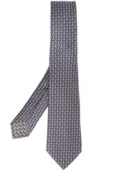 Bulgari Witch Spider Neck Tie Blue