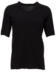The Viridi Anne The Viridi Anne V Neck T Shirt Black