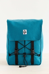 Chums Sweat Knapsack Backpack Blue