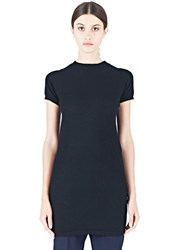 Rick Owens Cashmere T Shirt Dress