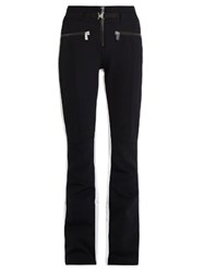 Toni Sailer Anais Jet Flared Ski Trousers Black White