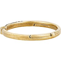 Giles And Brother Men's Latch Cuff Bracelet Gold