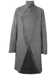 Lost And Found Ria Dunn Long Coat Grey