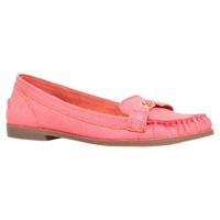 Kg By Kurt Geiger Kassidy Flat Loafers Pink Leather