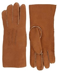 Agnelle Camel Arnaud Double Faced Sheepskin Gloves