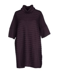Alpha Massimo Rebecchi Turtlenecks Purple