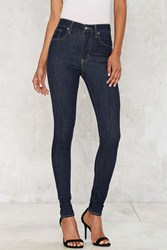 Levi's Mile High Super Skinny Jean Dark Blue