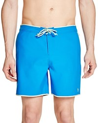 Penguin Earl Volley Swim Trunks Directoire Blue