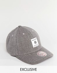 Mitchell And Ness Cap Adjustable Exclusive To Asos Grey
