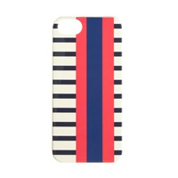 J.Crew Shiny Printed Case For Iphone 5 5S Red Navy