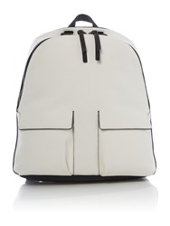 Kenneth Cole White And Black Backpack White