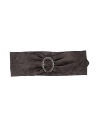 Post And Co Belts Steel Grey